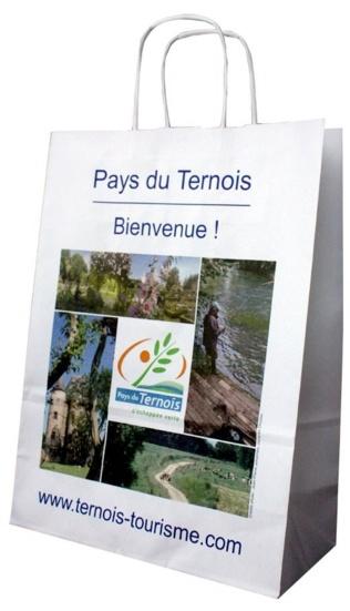 Sac publicitaire en papier du Pays du Ternois