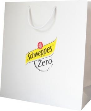 sac publicitaire évènementiel Schweppes zéro