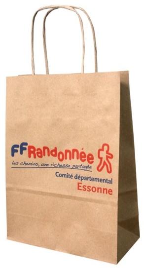 Sac Publicitaire France Randonnée Essonne