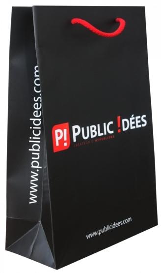 Sac publicitaire mat Public idées