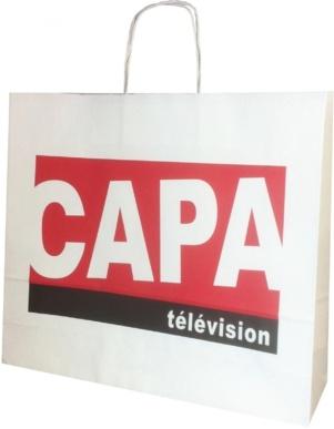 sac publicitaire papier CAPA télévision