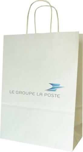 sac publicitaire papier La Poste