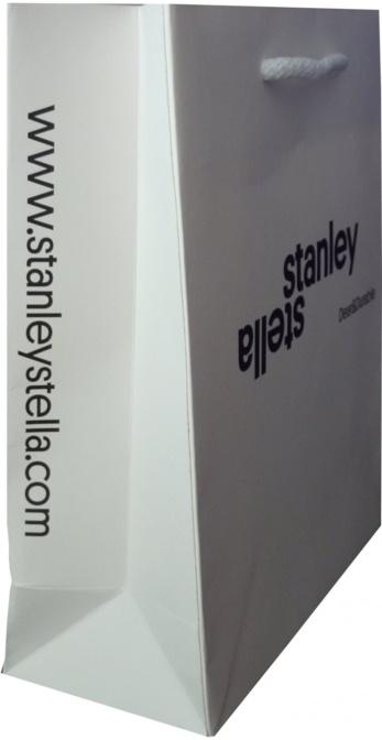 sac publicitaire papier Stanley&Stella