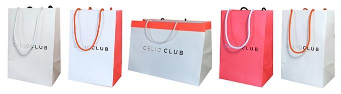 Sac publicitaire personnalisé Célio Club