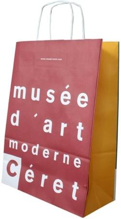 Sac publicitaire personnalisé Musée Art Moderne Céret Recto