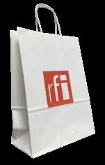 Sac publicitaire RFI