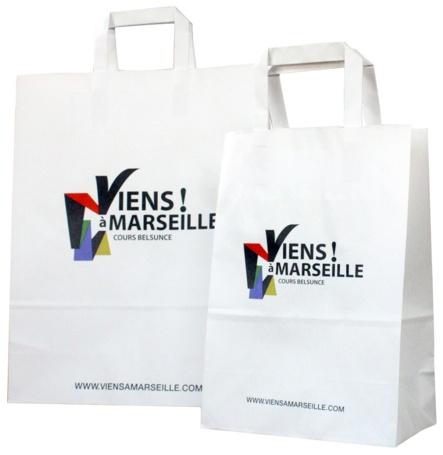 Sac publicitaire viens à Marseille