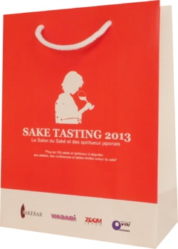 sac salon, Sake tasting 2013