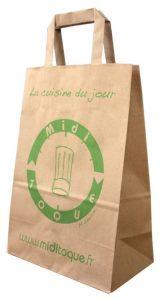 sac traiteur papier kraft