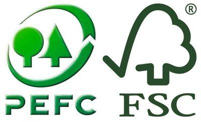 papier kraft FSC ou PEFC