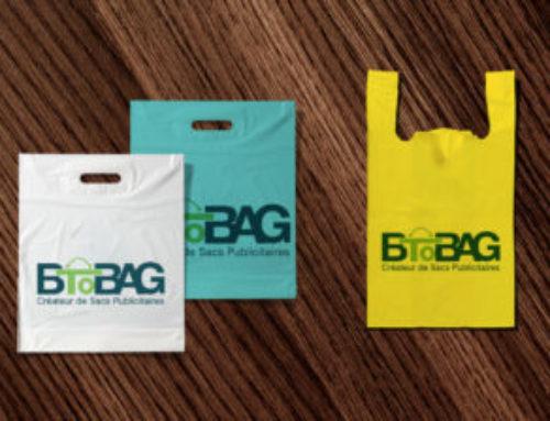 Sac plastique réutilisable ou un sac bioplastique personnalisé?