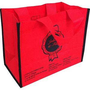 sac cabas polypro rouge