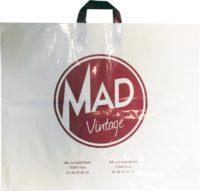 Sac plastique poignées souples Mad Vintage