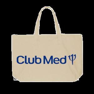 sac à zip en coton club med