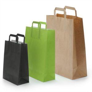 sac papier kraft biodégradable