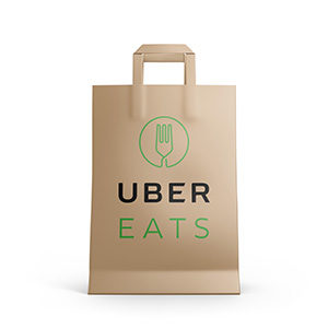 sac alimentaire Uber Eat