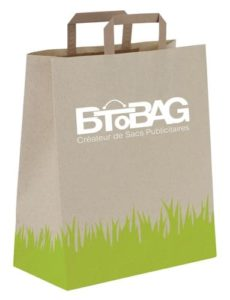 sac papier base herbe BtoBag