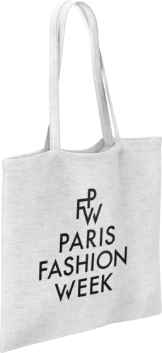 tote bag coton publicitaire fashion week