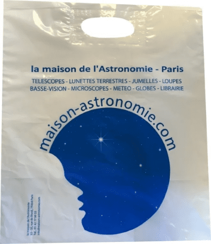 sac shopping magasin astronomie