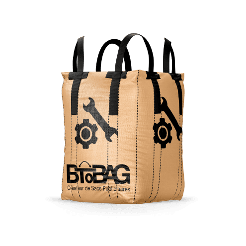 big bag chantier sangles croisées btobag